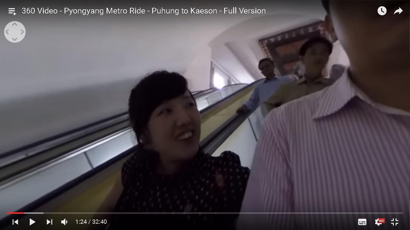 【VR平壌】美人ガイドさんと北朝鮮旅行を「VR体験」する動画がスゴイ